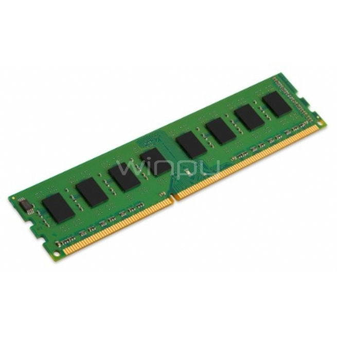 Memoria Kingston 8 GB 1600 MHz, DDR3L, KCP3L16ND8/8 - para PC