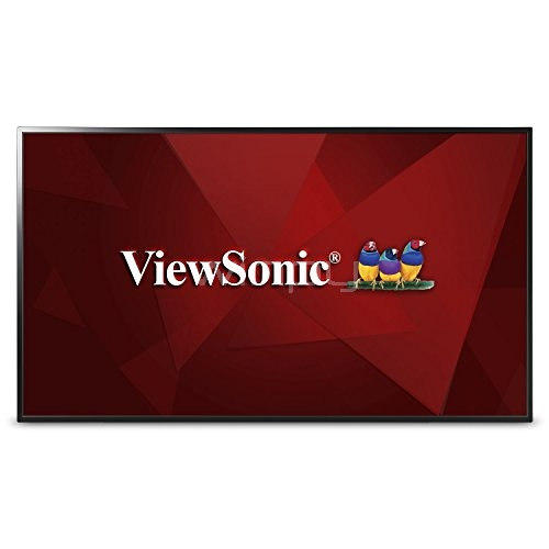 Pantalla Viewsonic Full HD LED, 43 Pulg - CDE4302 de exhibición comercial