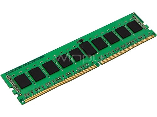 Memoria RAM Kingston ValueRAM de 4GB (DDR4, 2400 MHz, DIMM, 288-pin)