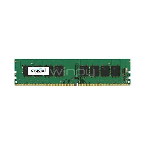 Memoria para PC 4GB DDR4 2666 MT/s PC4-21300 CL19 SR