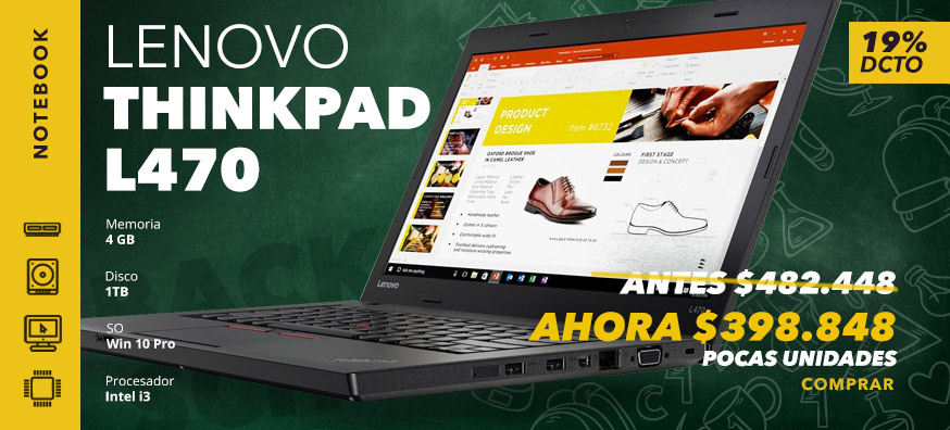 Notebook Lenovo Thinkpad L470