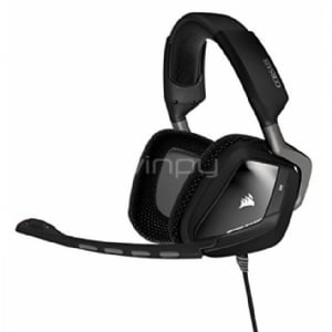 Audifonos con micrófono Gamer Corsair VOID USB Dolby 7,1 - Color Negro