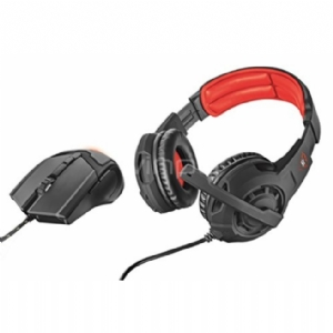 Pack Trust Gaming GXT 784 Auriculares + mouse gaming