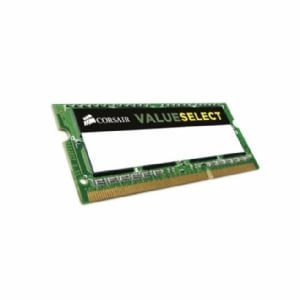 Memoria RAM Corsair Value Select de 8GB (DDR3L, 1600MHz, SODIMM, CL11)