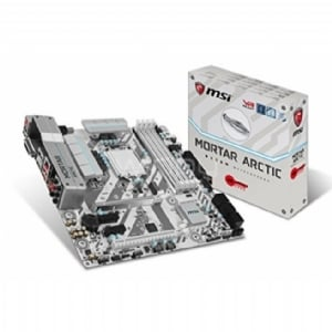 Placa Madre MSI B250M MORTAR ARCTIC (LGA1151, DDR4 2400MHz, Audio Boost, VR Ready