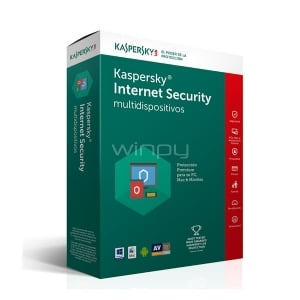 Kaspersky Internet Security multidispositivos 2017- 3PC, Mac y Android - KL1941DBDFS