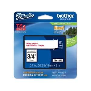 Cinta laminada Brother TZe242 -  (ancho: 18 mm, longitud: 8 m) Brother P-Touch
