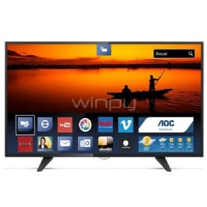 Televisor AOC Smart TV de 43 Full HD ISDB-T