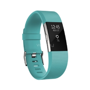 Pulsera inteligente Fitbit Charge 2 Small - Turquesa