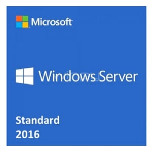 Microsoft Windows Server 2016 Standard (64-bit, 16 núcleos, Espanol, DVD-ROM, OEM)