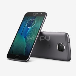 Motorola Moto G5s Plus (4G, 32GB, 12Mp dual, Android 7,1, Gris)