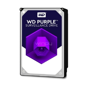 Disco duro Western Digital Purple 3TB (Serial ATA III, 5400 RPM, 3.5)
