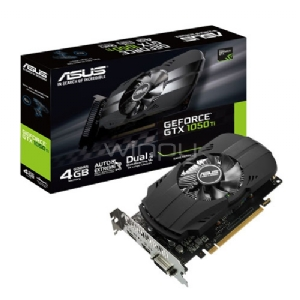 Tarjeta de Video Asus Phoenix GeForce GTX 1050 Ti 4GB GDDR5