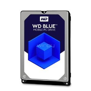 Disco duro Notebook Western Digital Blue 1TB (5400RPM, 128MB búfer, Formato 2,5)