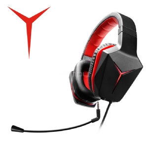 Auriculares Gamer Lenovo Y: ROW con sonido Dolby 7,1 (USB + 3,5mm, LED)