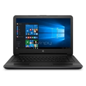 Notebook HP 245 G6 (AMD E2-9000e, 4GB RAM, 500GB HDD, Pantalla 14, Win10)