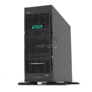 Servidor HPE ProLiant ML350 Gen10 (Xeon 4110, 16GB DDR4, Sin disco, Torre 4U)