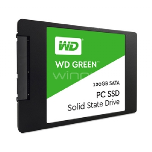 Disco estado sólido Western Digital Green de 120GB (WDS120G2G0A)