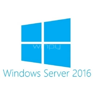 Licencia Microsoft Windows Server 2016 Standard ROK de Dell (DVD, 64-bit, 16 CPU)