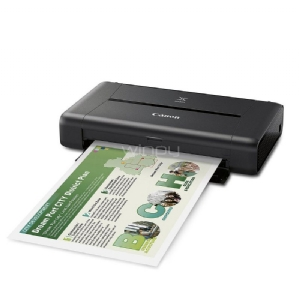 Impresora de tinta portátil Canon PIXMA iP110  (9600 x 2400 dpi, USB, WLAN, Pixma Cloud-Link, Apple AirPrint)