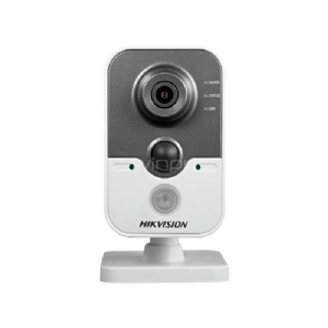 Cámara IP Hikvision para interiores con vision nocturna (FullHD a 30fps, IR 10m, PoE, WIFI, micro SD)