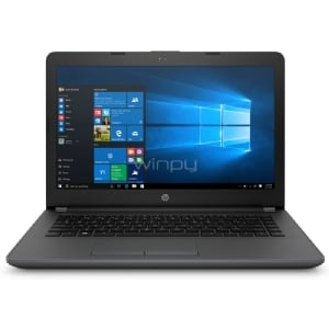 Notebook HP 240 G6 (Celeron N4000, 4GB DDR3, 500GB HDD, Pantalla 14, Win10)