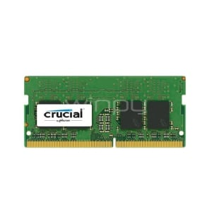 Memoria RAM Crucial DDR4 de 4GB (DDR4, 2666MHz, CL19, SO-DIMM, 260pines)