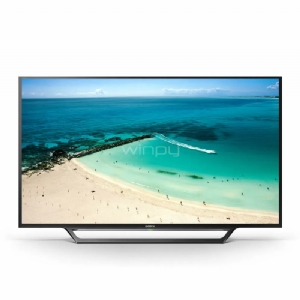 "Televisor Smart TV Sony W650D de 48"" (LED, Full HD, X-Reality PRO, WiFi)"