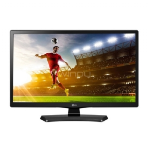 "Monitor TV LG 24MT48DF-PS de 24"" (VA, HD, HDMI+USB, Parlantes 5W, VESA 75x75)"
