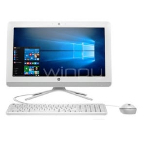 "All in One HP 20-C409LA con pantalla de 19.5"" (i3-7130u, 4GB RAM, 1TB HDD, Win10)"