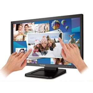 Monitor ViewSonic  LED 22 (Multitouch, VGA-HDMI)