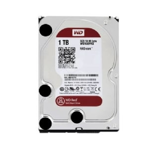 Disco Duro Western Digital RED de 1TB (SATA, 5400rpm, Formato 3.5)