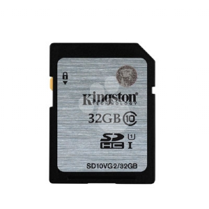Tarjeta de memoria Kingston 32GB SD Class 10 UHS-1