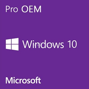 Microsoft Windows 10 Profesional (64-bit, 1 Usuario, DVD-ROM)
