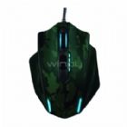 Mouse Gamer Trust GXT 155C Green Camouflage (USB, 4000DPI, 11 Botones)