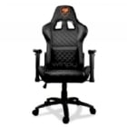 Silla Gamer Cougar Armor One (PVC, Ajustable, 120kg, Negra)