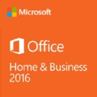 Microsoft Office Hogar y Empresas 2016 (Windows, 1 Usuario, Descargable)