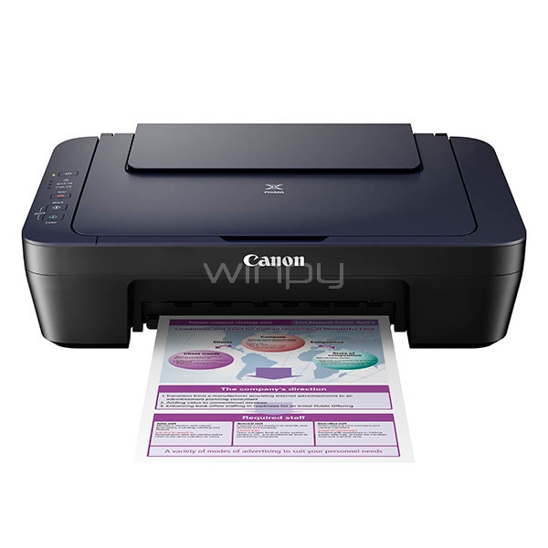 Impresora multifuncional tinta color Canon E402 -Copia escaner ...