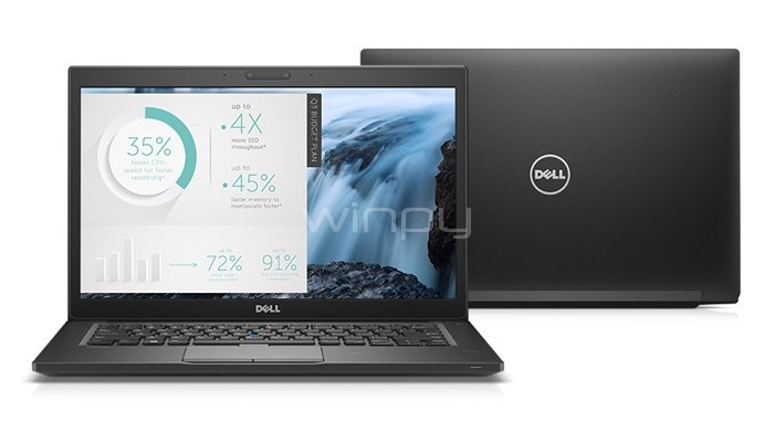 Ultrabook Dell Latitude 7480 (i5-7300U, 8GB DDR4, 256GB SSD)