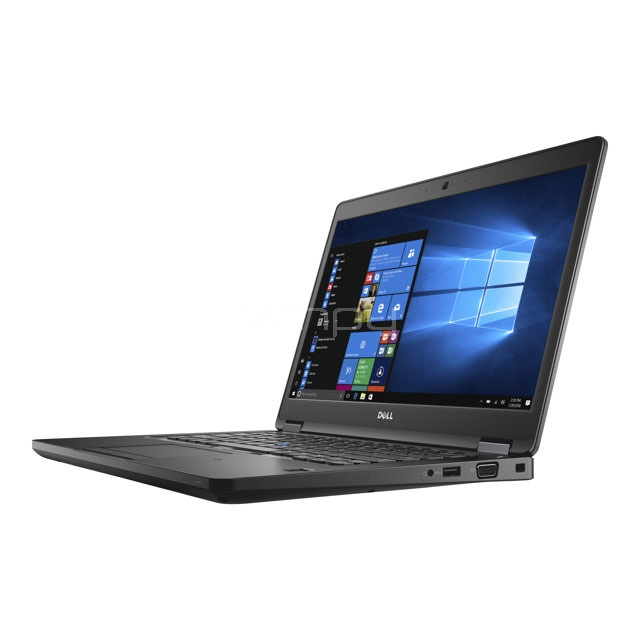 Notebook Dell Latitude 5480 (i5-7300u, 8GB DDR4, 1TB HDD, GeForce 930MX  2GB, Pantalla 14, W10Pro)