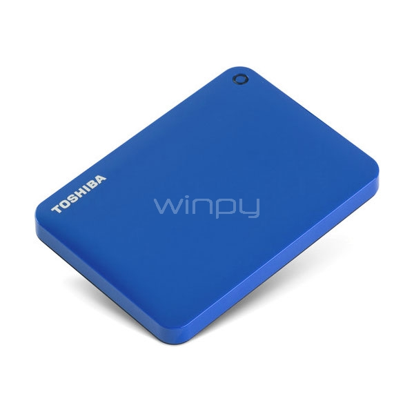 Disco Toshiba Canvio Connect II 2TB Portable - Azul