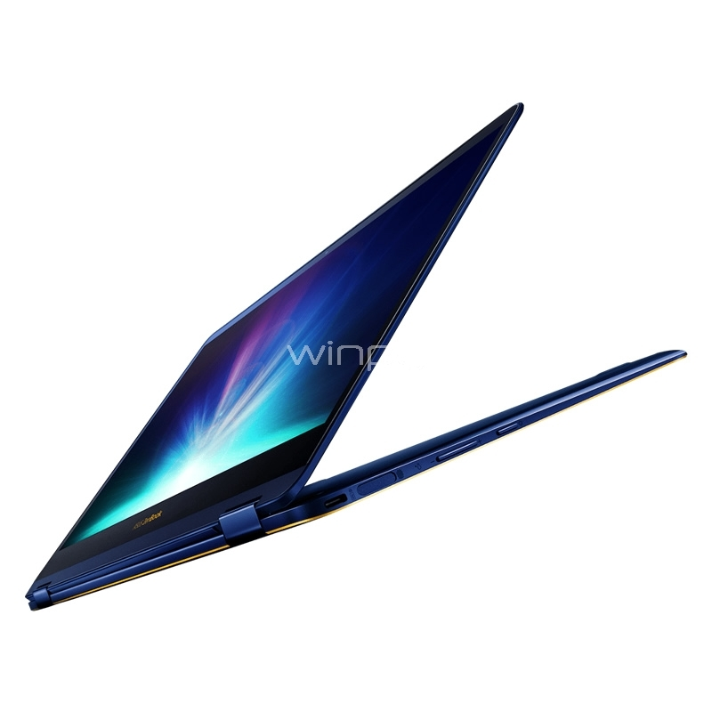 notebook convertible asus zenbook flip s - ux370ua-c4181t (i5-8250u, 8gb ddr4, 256gb ssd, pantalla touch 13,3, win10)