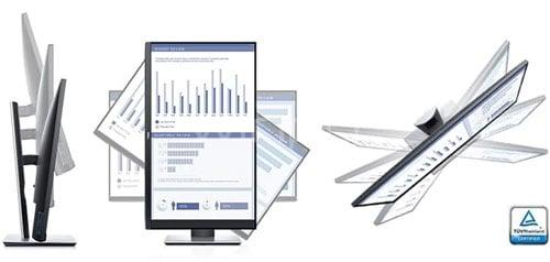 Winpy.cl...Monitor Profesional Dell P2419H de 24 pulgadas (IPS, Full HD, borde ultrafino, DisplayPort+HDMI+VGA)