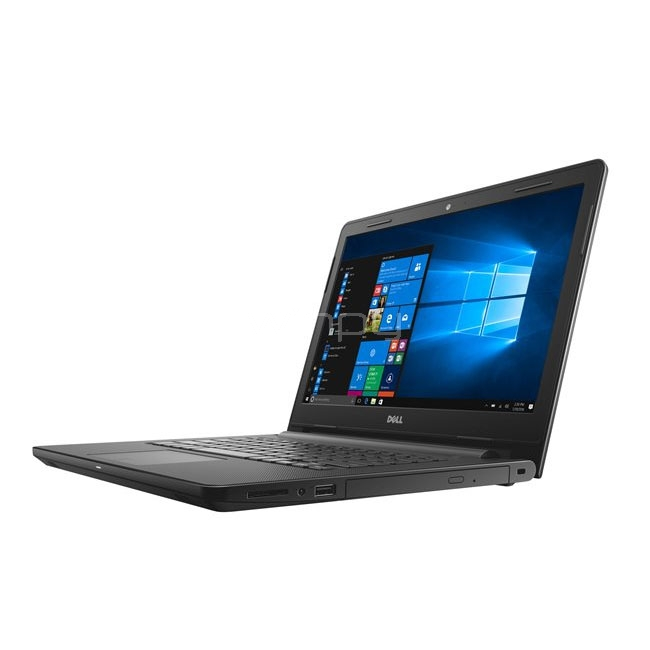 Notebook Dell Inspiron 14-3467 (i5-7200u, 8GB DDR4, 1TB HDD, Win10, Pantalla 14)