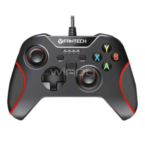 Joystick Gamer Fantech Shooter GP11 (Pc/Ps3, Vibración, Usb, Negro)