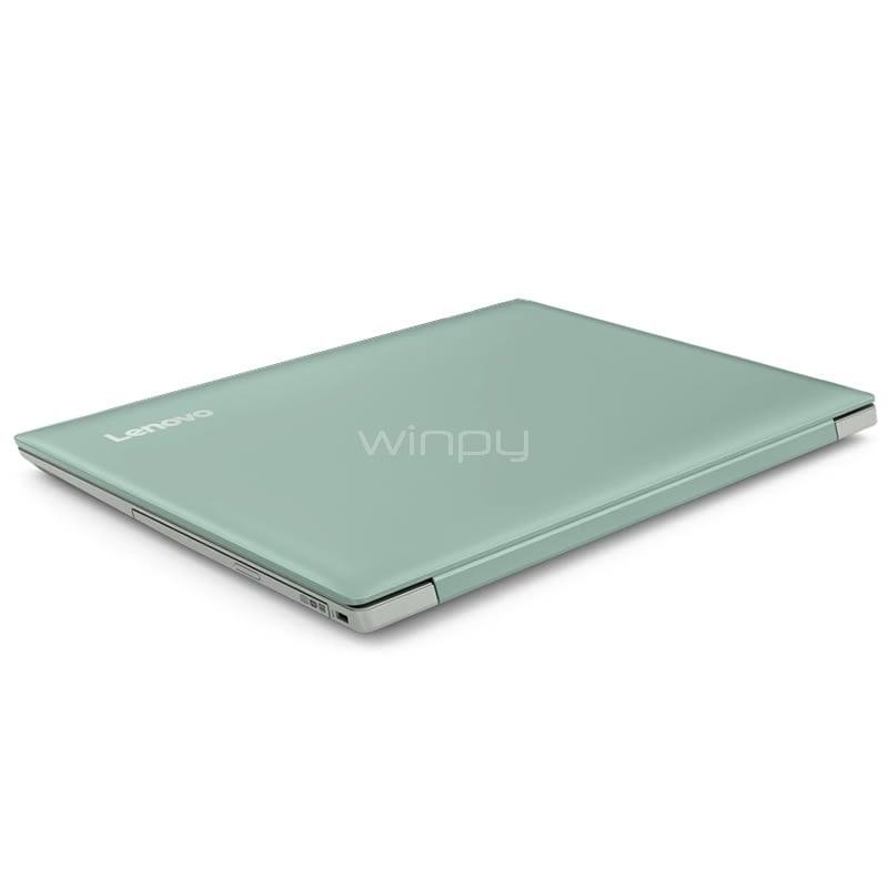 Notebook Lenovo Ideapad 330 14ast Amd A4 9125 4gb Ram 500gb Hdd Pantalla 14 Win10 Mint Green Winpy Cl