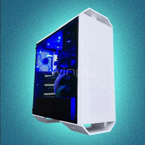 Computador Gamer Armor White (i5-9400F, RTX 2080, 16GB DDR4, 500GB NVMe,  RGB, FreeDOS)