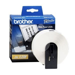Etiqueta de papel Brother DK1208 (90 x 38 mm)